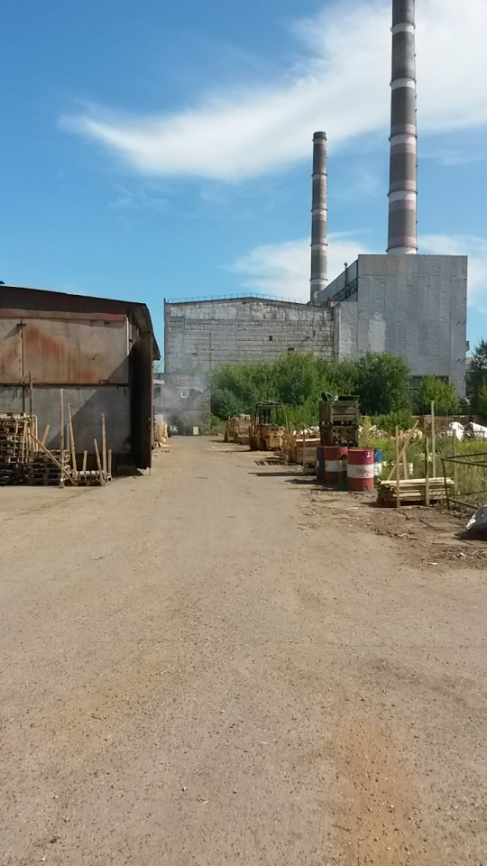 Производственная база Стройбаза